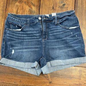 Jean shorts size 16